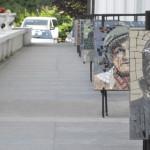 INEDIT: Expoziţie de mozaicuri la Teatrul Tony Bulandra din Târgovişte