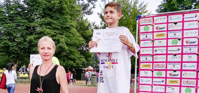 Sebastian Chelcan (CS Târgovişte), aur la triatlon