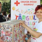 GIURGIU: Jandarmii au donat jucării pentru copiii nevoiaşi