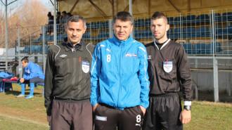 Ciprian Stăncescu, în centru