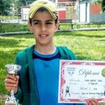 TENIS: Cezar Papoe a ratat la mustaţă bronzul la Campionatul Naţional ...