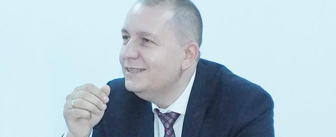 Dr. Claudiu Dumitrescu - manager Spitalul Judeţean de Urgenţă din Târgovişte