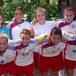 FOTBAL FEMININ: CSŞ Târgovişte, locul 2 la Campionatul Naţional de tin...