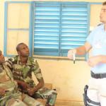 MÂNDRIE: Maiorul Gabriel Fotescu, instructor de succes în Republica Ma...