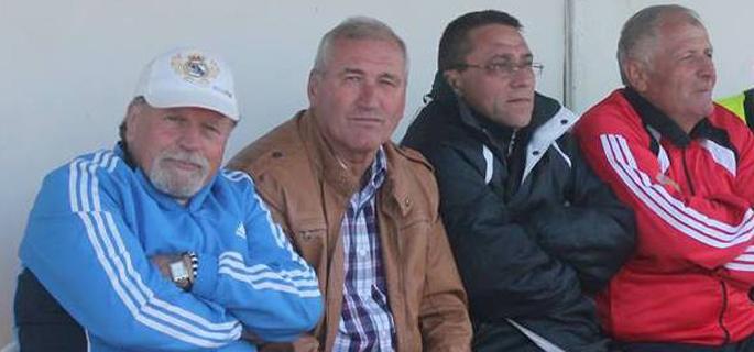 Sabin Ciurea, al doilea din stânga