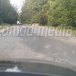 CNADNR a primit a doua amendă pentru starea jalnică a DN 71, Tâgovişte...