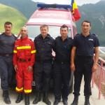 ARGEŞ: Cinci angajaţi ISU lucrează 24 de ore din 24 pe Transfăgărăşan