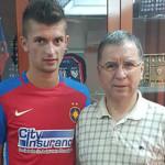FOTBAL: Găeşteanul Florin Tănase a fost achiziţionat de Steaua Bucureş...