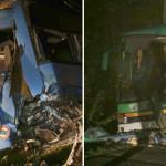 ARGEŞ: Două autobuze cu 80 de muncitori de la Dacia s-au ciocnit noapt...