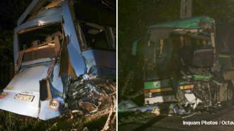 accident autobuze