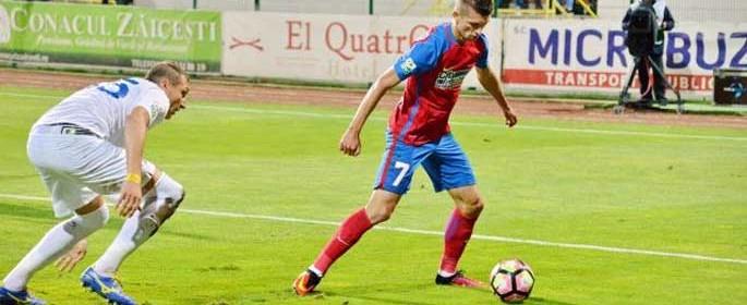 Florin Tănase, la minge