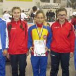 """KARATE: Lavinia Olteanu și Valentin Cîrlan, aur la Trofeul """"Sportul St..."""