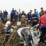 VIDEO: Trei femei au murit într-un cumplit accident rutier în comuna G...
