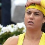TENIS: Sorana Cîrstea a părăsit turneul de la Linz în optimi