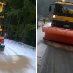 UPDATE: Drumul asfaltat spre Bucegi intră în  iarnă cu lucrări nefinal...