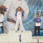 KARATE: Lavinia Olteanu, de la CS Târgovişte, de două ori pe podium la...