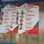 DÂMBOVIŢA: Liberalii reclamă PSD pentru afişaj electoral ilegal