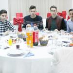 DÂMBOVIŢA: Banchet pentru fotbaliștii Aninoasei la final de tur