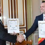 TÂRGOVIŞTE: Înfrăţire cu oraşul Căuşeni din Republica Moldova, semnată...