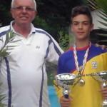TENIS: Andrei Voican, de la CS Târgovişte, a părăsit Cupa Tenis Team î...