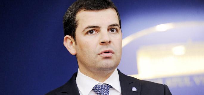 Daniel Constantin - vicepremier şi ministru al Mediului (Sursa foto: gov.ro)