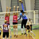 VOLEI: CSM Târgoviște a piedut primul joc din semifinalele Cupei