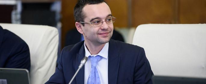 Gabriel Petrea - ministrul Consultării Publice și Dialogului Social