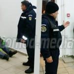 GIURGIU: Jandarmii au adunat din stradă persoanele fără adăpost