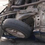 DÂMBOVIŢA: S-a răsturnat cu maşina şi a fugit de la locul accidentului