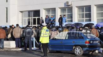 protest COS Targoviste 2