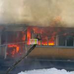 TELEORMAN: Bătrână de 85 de ani, salvată din casa cuprinsă de flăcări