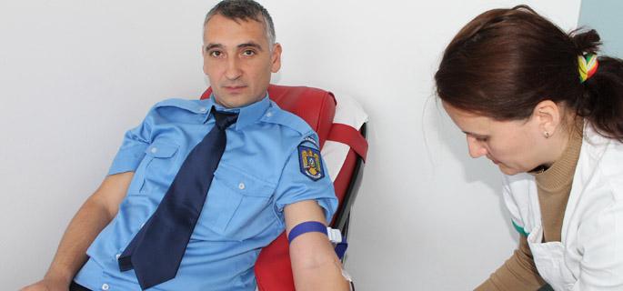 jandarmi donare sange giurgiu 3