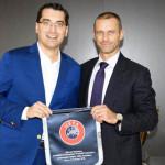 UEFA: Preşedintele FRF va conduce grupul de lucru cu Uniunea Europeană