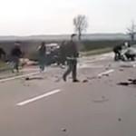 IALOMIŢA: Trei morţi şi patru răniţi grav într-un accident la Moviliţa...