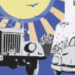 TIMP LIBER: 46 de maşini de epocă, paradă pe străzile Târgoviştei. Vez...