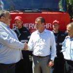 DÂMBOVIȚA: Primăria Gura Ocniței a donat o mașină de pompieri administ...