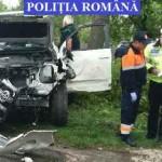 IALOMIŢA: Accident cu trei victime pe DN2A, în localitatea Căzăneşti