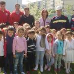TÂRGOVIŞTE: Geo-Sting şi Crucea Roşie îi învaţă pe copii cum să se com...