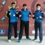 WUSHU: Fraţii David şi Gabriel Marin au devenit vicecampioni europeni