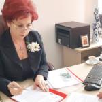 DÂMBOVIŢA: Deputata Carmen Holban, întâlnire cu sindicaliştii din sănă...