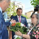 """TÂRGOVIŞTE: Ambasadoarea Israelului, vizită la Şcoala """"Smaranda G..."""