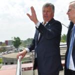 DÂMBOVIŢA: Ministrul Educaţiei, vizită de lucru pe mai multe şantiere ...