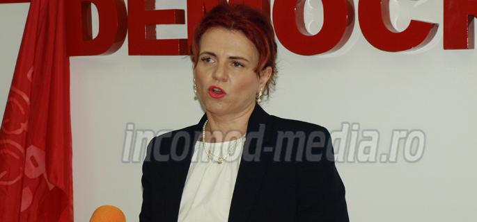 Claudia Gilia - vicepreşedinte Consiliul Judeţean Dâmboviţa
