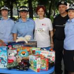 GEST: Jandarmii din Giurgiu au donat jucării pentru copiii nevoiaşi