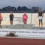 ATLETISM: Diana Ivăncescu, de la CS Târgoviște, triplă medaliată la Ca...