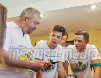 FOTO: Tabăra Meseriaşilor OMV Petrom le insuflă elevilor dorinţa de perfecţionare, de autodepăşire!