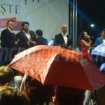 FOTO: Seară cu ploaie şi spectacole de excepţie la Târgovişte!