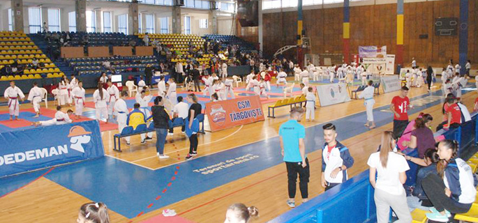 karate open targoviste
