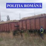 DÂMBOVIŢA: Poliţiştii au interceptat trei vagoane de tren încărcate cu...