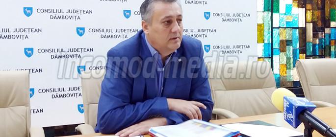 Alexandru Oprea - preşedinte Consiliul Judeţean Dâmboviţa